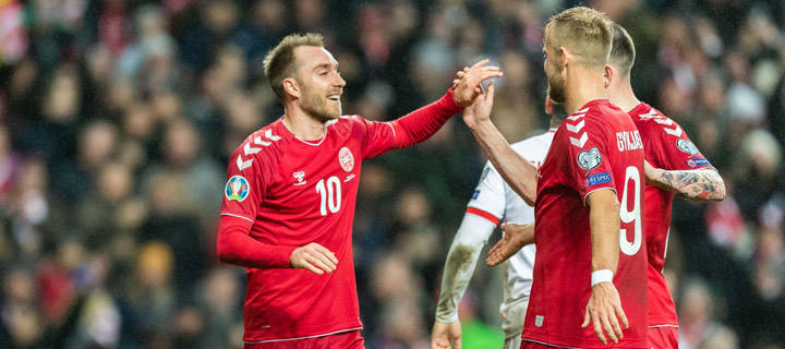 Pressure rising for Eriksen`s men!